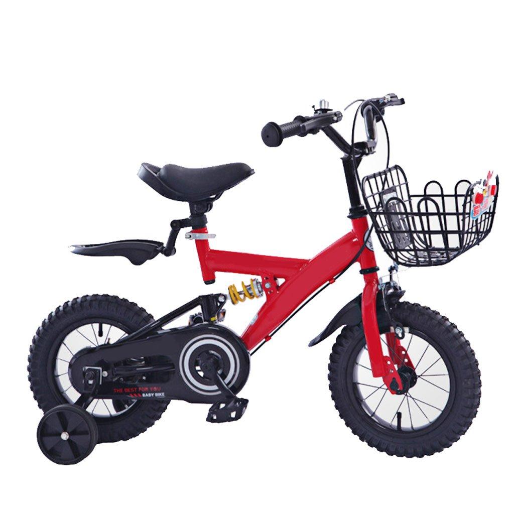 Bicicletta da Bambino 2-4-6 Anni 12-14-16-18 Pollici Ragazza Bambino Montagna con Ruota da Allenamento (Misura  18 Pollici)