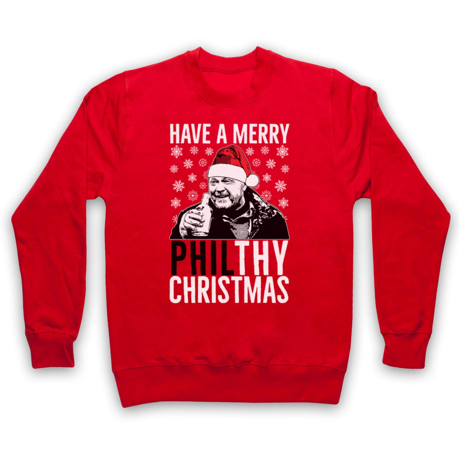 EASTENDERS PHIL MITCHELL UNOFFICIAL MERRY PHILTHY XMAS BABY GROW BABYGROW GIFT