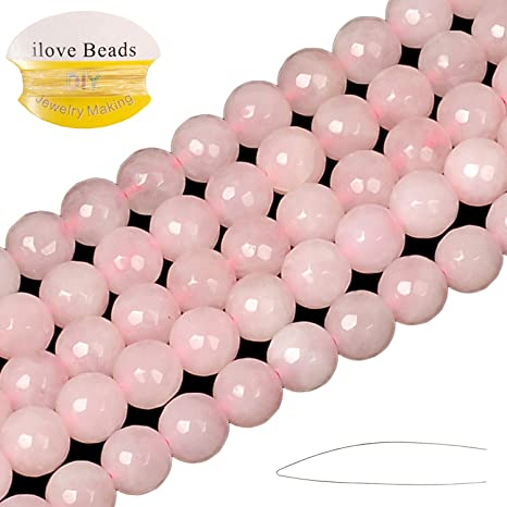 10 Strands of Rose Quartz 6mm Round Beads Wholesale Deal