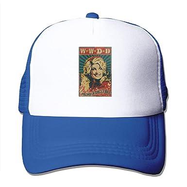 Louis Berry Dolly Parton - Gorro de Malla Unisex Ajustable para ...