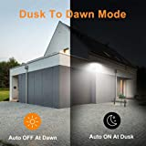 LEPOWER 35W Dusk to Dawn LED Security Lights