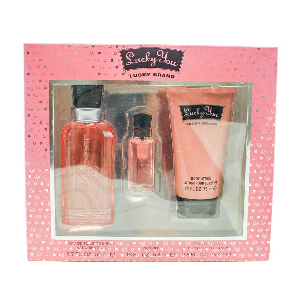 Authentic Lucky You Perfume By Lucky Brand 3 4 Oz Eau De Toilette Spray For Women: Amazon.com : Lucky You By Lucky Brand For Women. Eau De Toilette Spray 3.4 Oz. : Perfume : Beauty