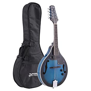 Musical Instruments Just Ammoon Adjustable 8-string Electric A Style Mandolin Rosewood Fingerboard String Instrument With Cable Strings Cleaning Cloth Mandolin