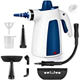 FunDADYUS Steam Cleaner, Portable Car Carpet Upholstery Cleaner Machine High Pressure Steamer with 9 Piece Accessories for Cl
