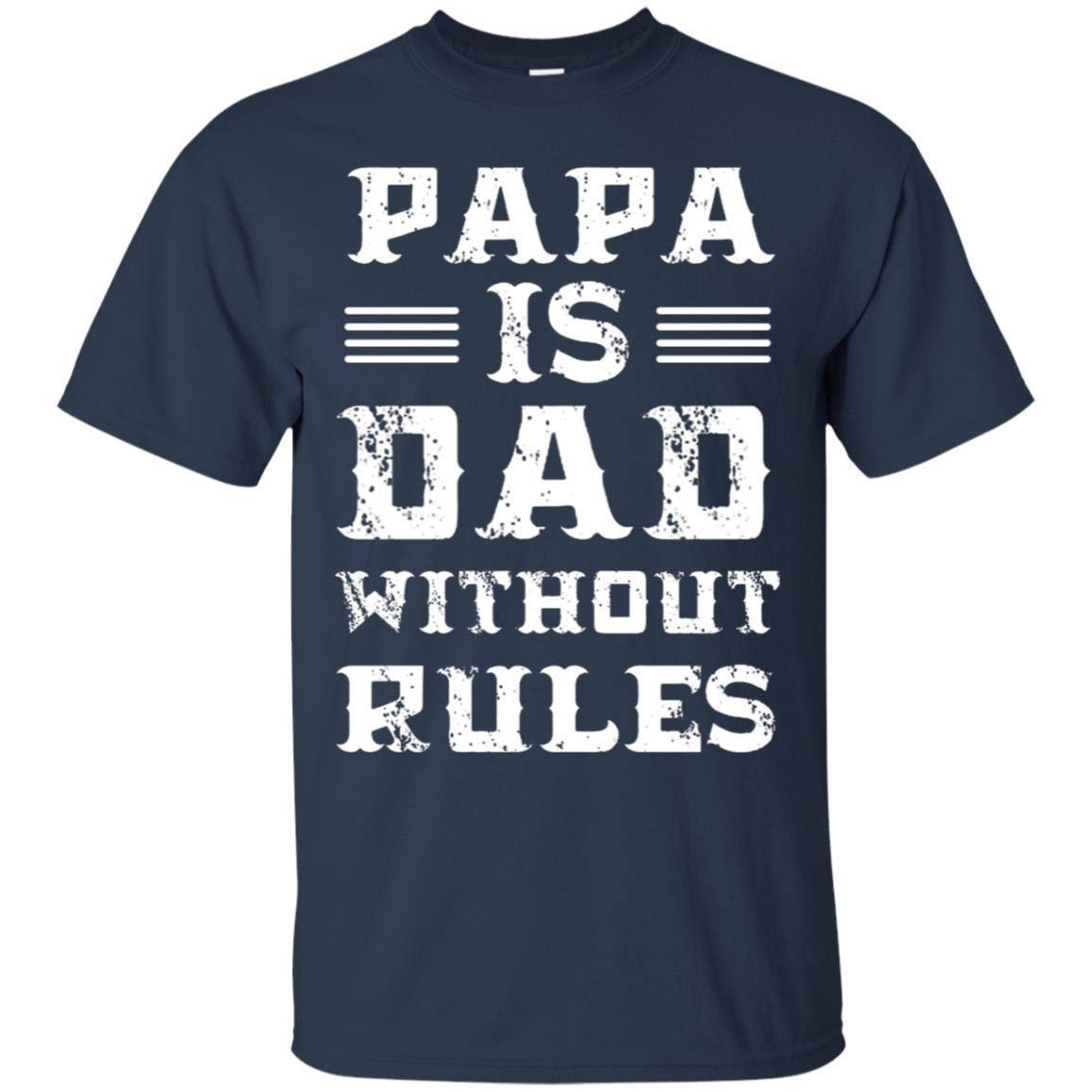 Teelesto Papa is Dad Without Rules Shirt