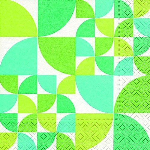 20Servilletas Lunch Bauhaus Pattern 33x 33