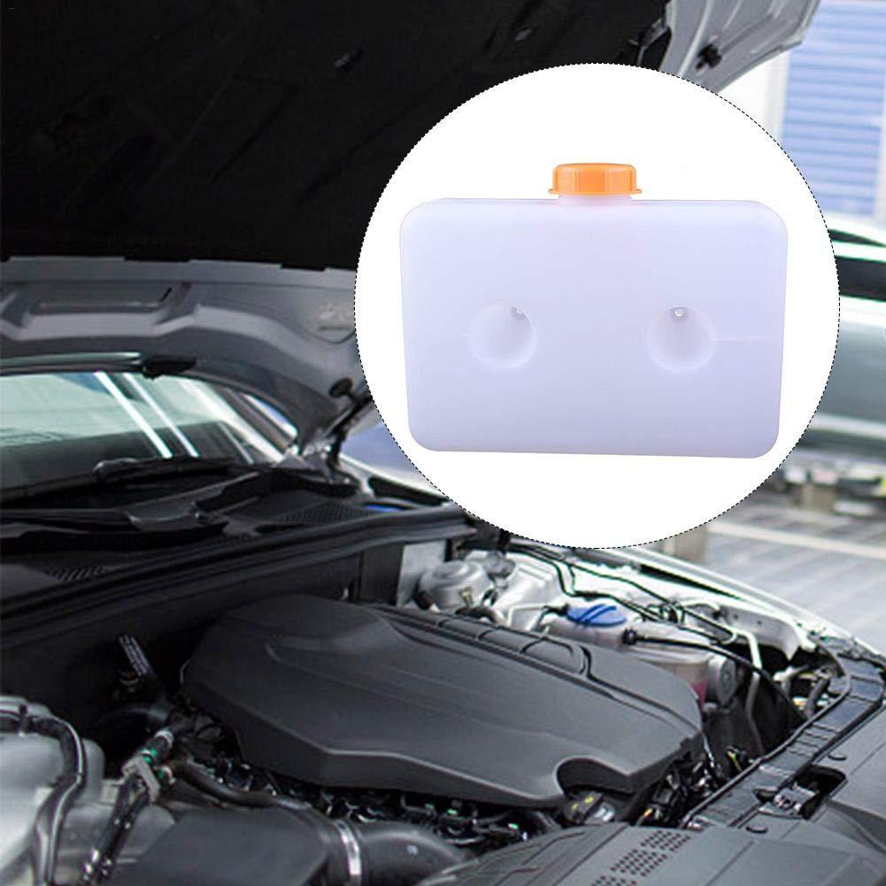 Eruditter 5L R/éservoir De Carburant en Plastique R/éservoir Dessence 2 Trous R/échauffeur Automobile avec Petit R/éservoir De Carburant en Plastique