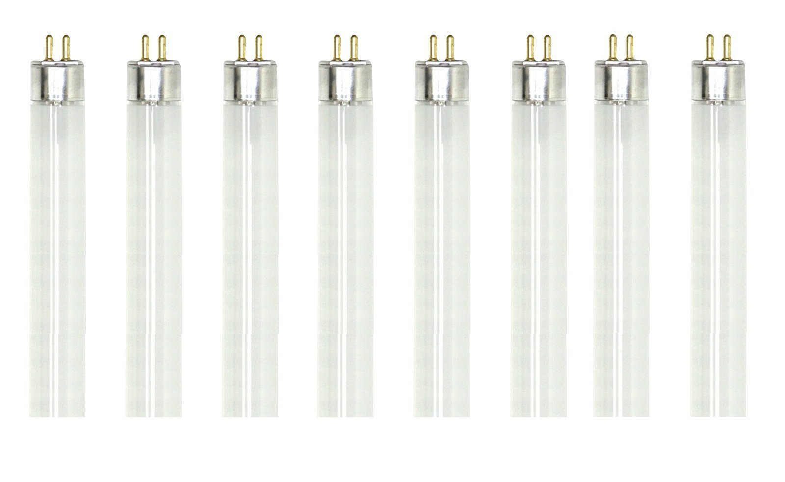 (Pack Of 8) F8T5/WW 8W T5 12-Inch 3000K Fluorescent Light Bulbs, Warm White