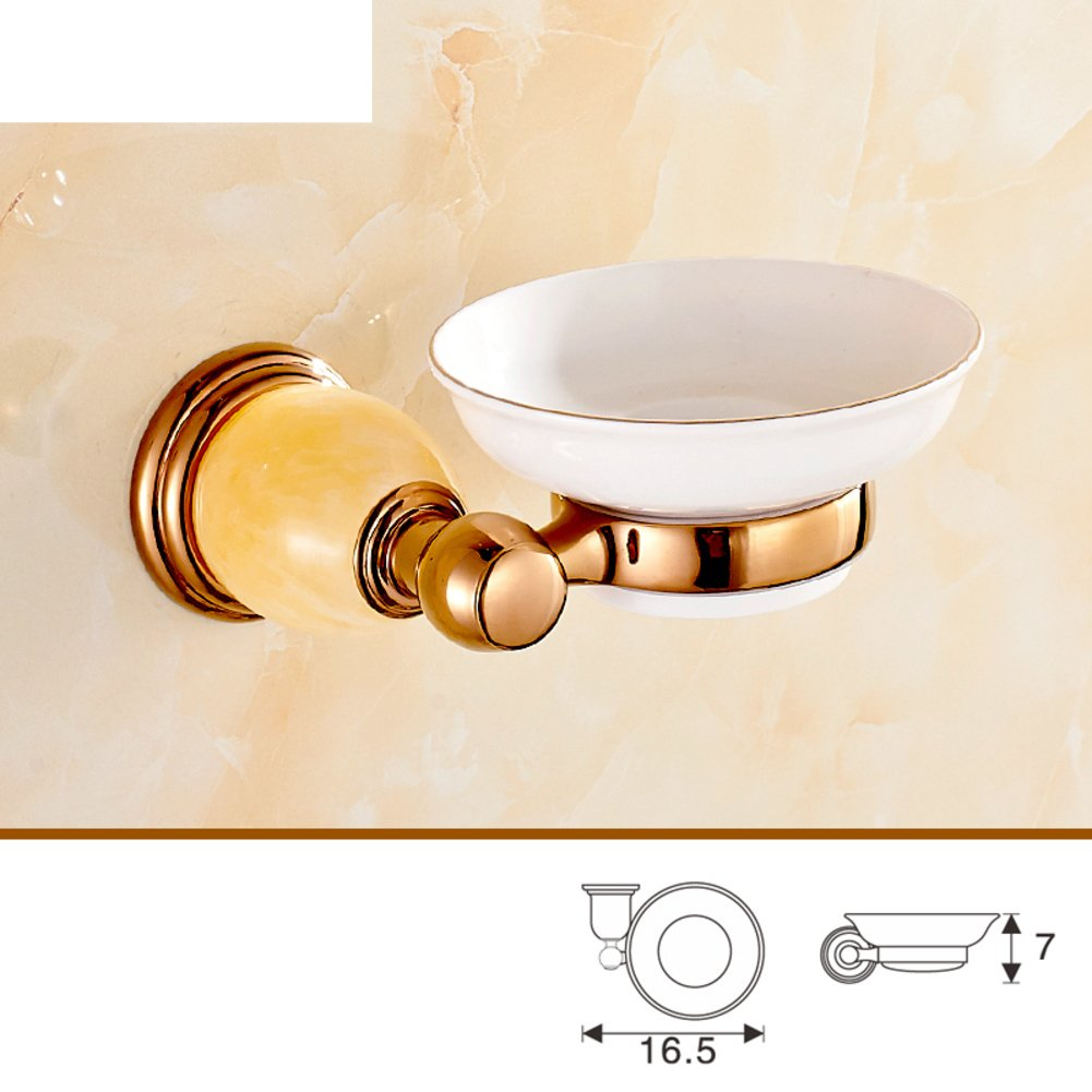 Brass Bathroom Accessories Good European Style Rose Gold Towel Rack Towel Rack Jade Set