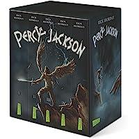 Percy-Jackson-Taschenbuchschuber (Percy Jackson ): Alle fünf Bände im Schuber