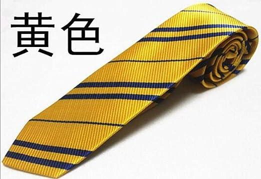 GLMXJJ Raya Diagonal Corbata Harry Potter Insignia Corbata Gedos ...