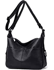 Women Hobo Shoulder Bag Soft PU Leather Crossbody Purse and Hangbags for Ladies Casual Daypack