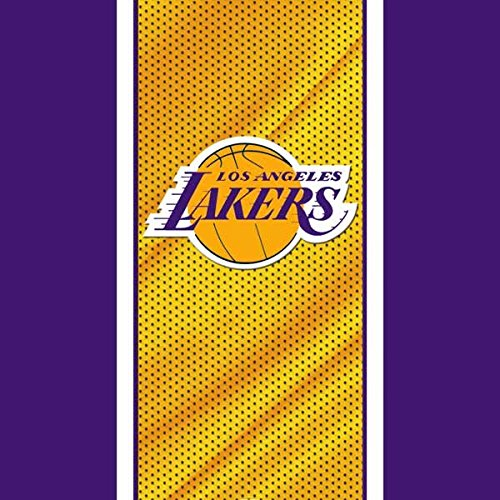 NBA Los Angeles Lakers Xbox 360 Wireless Controller Skin - Los Angeles Lakers Home Jersey Vinyl Decal Skin For Your Xbox 360 Wireless Controller