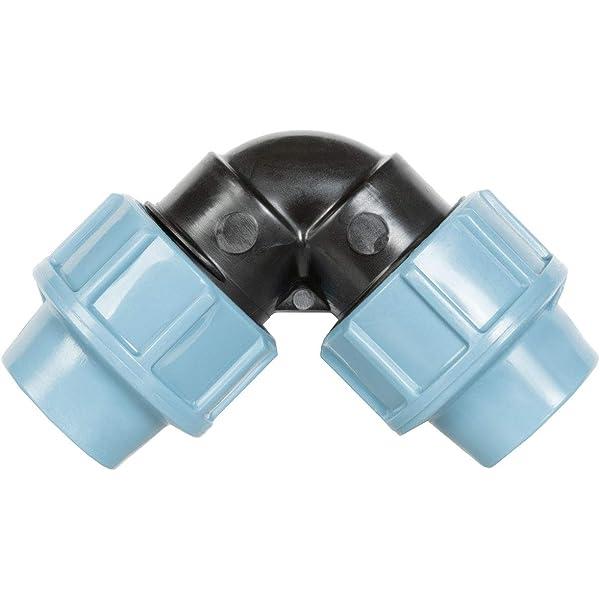HWS01-20 Di/ámetro: 20 mm LDPE 3//4 Longitud: 5 m HOLZBRINK Tubo de Riego de Agua Disponible para Sistemas de Riego por Goteo