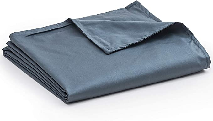 YnM Cotton Duvet Cover for Weighted Blankets
