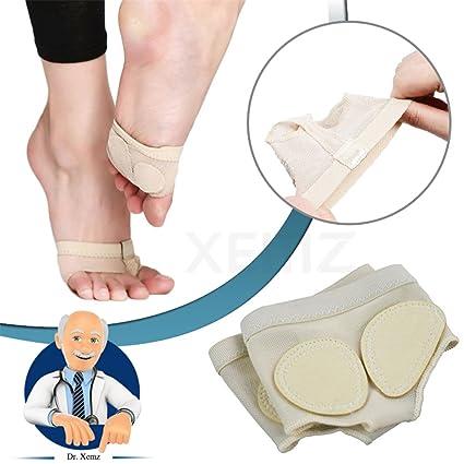 Almohadillas de Ballet Antepié, Antideslizantes Calcetines de Fitness, Plantillas de Tacones Altos, Separadores