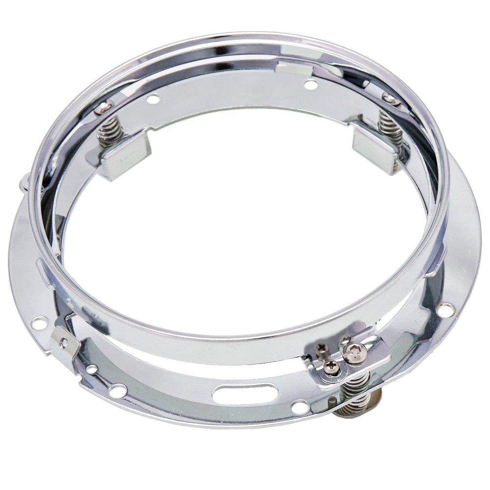7 inch Round LED Headlight Ring Mounting Bracket for Harley Davidson Headlight Mount XJX