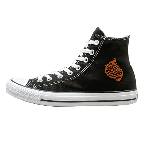 separation shoes 1b810 7a9c0 ABCDFJ-Shoes YouTube Good Mythical Morning Logo Fashion Casual Canvas High  Top Sneakers Unisex 36