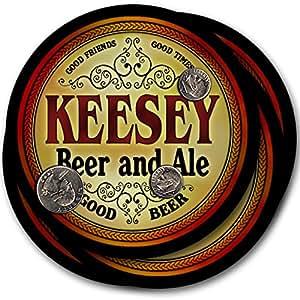 Keesey Beer & Ale - 4 pack Drink Coasters