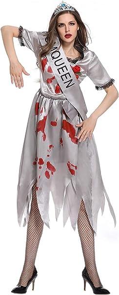 Amazon.com: COSMOVIE - Vestido de novia para mujer, diseño ...