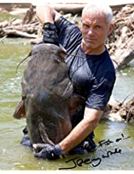 Jeremy Wade of River Monsters reprint signed photo RP