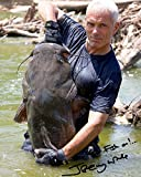 #4: Jeremy Wade of River Monsters reprint signed photo RP