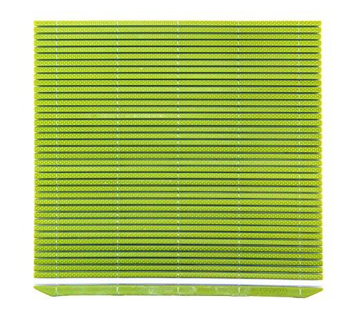 Hasegawa 10 x 6.5 Inch Plastic Green Makisu/Sushi Rolling Mat from by Hasegawa