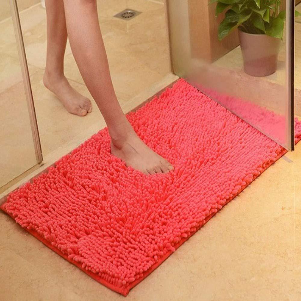 AITU Carpet Spessa Cucina Soggiorno Tappeto Camera da Letto Tappeti Tappeto Teiera Zerbino Zerbino Antiscivolo, A80 * 120Cm