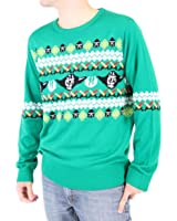 Yoda Rebel Star Wars Movie Mighty Fine Adult Knit Pullover Christmas Sweater