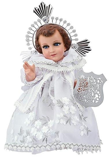 Niño De La Fe. Traje de Niño Dios. Baby Jesus Outfit (15cm)