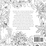 The Plant Lady: A Floral Coloring Book with
