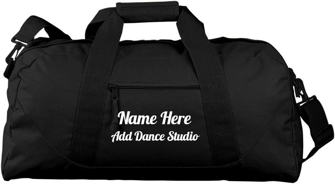 Custom Dance Practice Bag For Teens Liberty Large Square Duffel Bag
