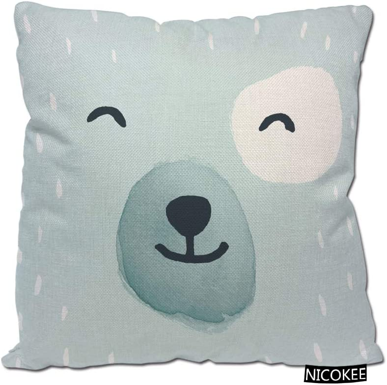 Nicokee Decorative Throw Pillow Covers