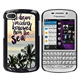 God Garden - FOR BlackBerry Q10 - We Dream In Coors bowwed from the sea - Case Cover Protection Design Ultra Slim Snap on Hard Plastic