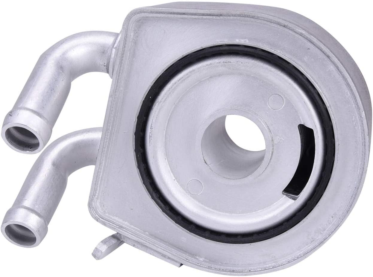 Bapmic 1S7Z-6A642-AA Engine Oil Cooler for Ford Mercury Escape 01-07 Mariner 05-07