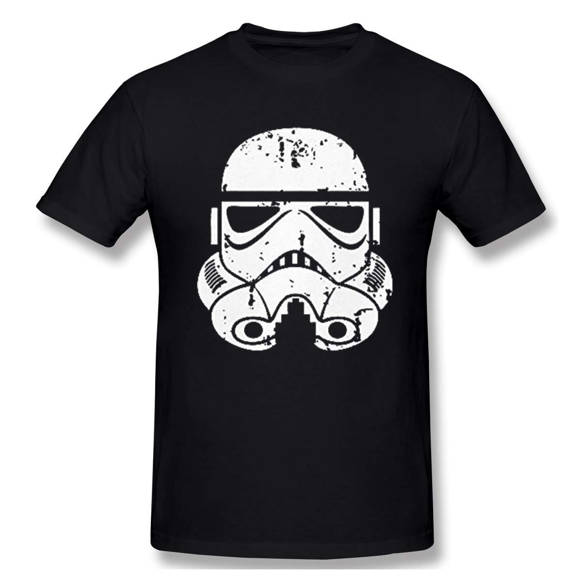 Perfectmeet Distressed Stormtrooper Storm Trooper Short Sleeve T Shirt 2336