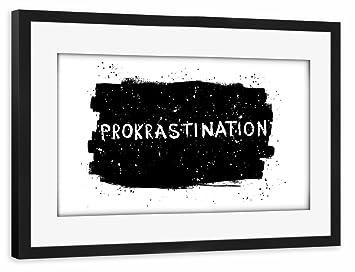 artboxONE Holzbild 30x20 cm Typografie Hygge von Künstler Cristina Castro Moral Bilder, Poster, Kunstdrucke & Skulpturen