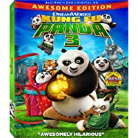 Kung Fu Panda 3 Awesome Edition Blu-ray + DVD