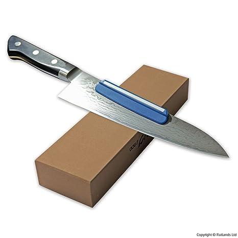 Japonés cuchillo - Guía para afilar: Amazon.es: Bricolaje y ...