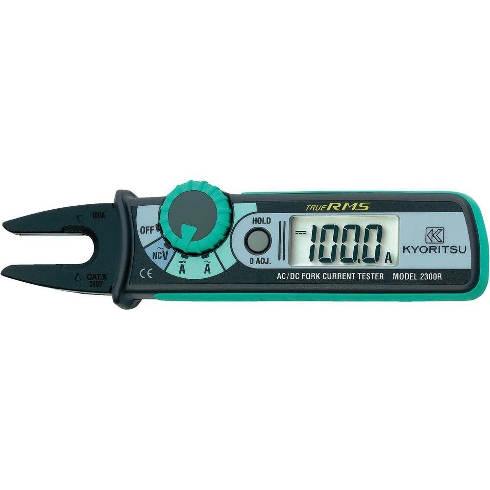 Tragbar Multimeter Stromzange Digital Kyoritsu KEW 2300R Cat III 300V Anzeige (Counts): 1049