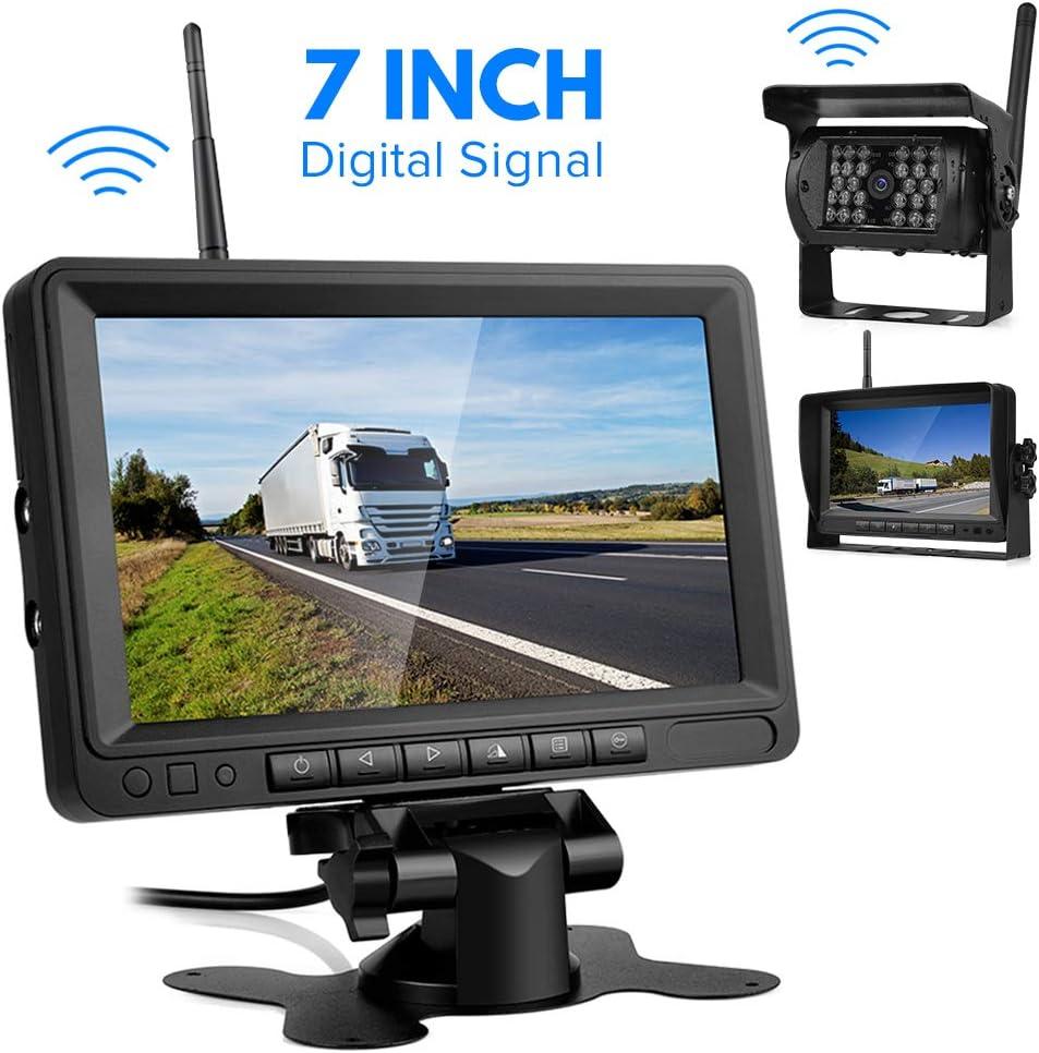 Kabellos Digital Rückfahrkamera Set 7 Lcd Funk Elektronik