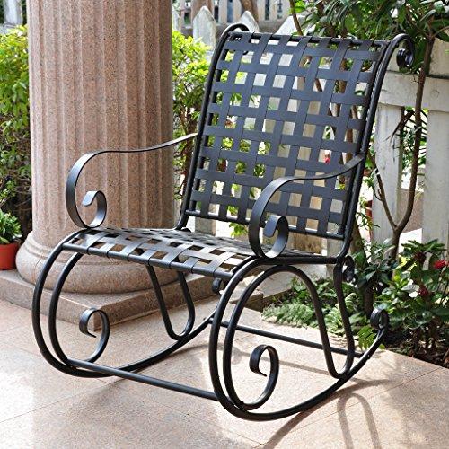 Mandalay Iron Rocking Chair