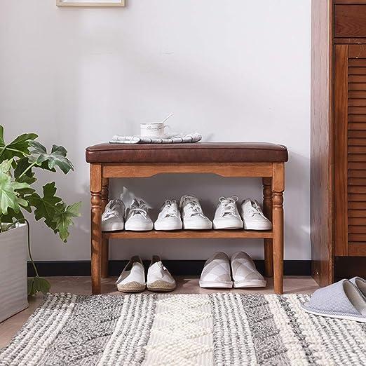 Amazon.com: DWW Vintage Shoe Bench Faux