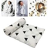 Manta de algodón para bebé y niños pequeños (Modelo Triangular)