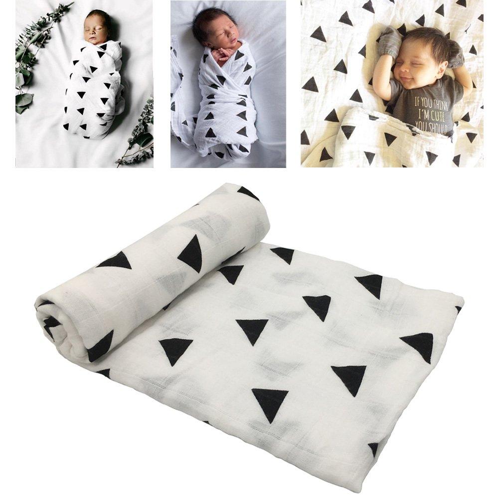 Manta de algodón para bebé y niños pequeños (Modelo Triangular) product image