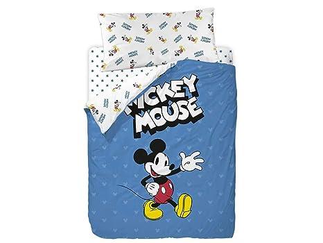 Saco Nórdico Mickey Blue Ideal Tanto para Literas como Camas Nido de 90cm