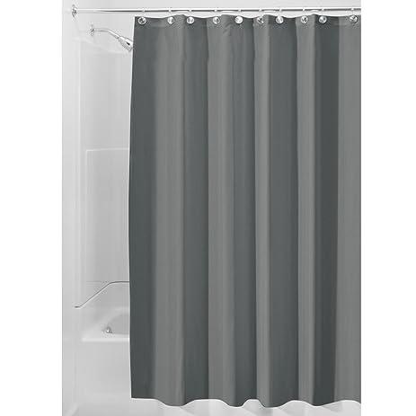 Charming InterDesign Water Repellent And Mildew Resistant Fabric Shower Curtain,  72u0026quot; X 96u0026quot
