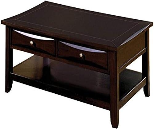 Reviewed: Benjara Benzara Contemporary Style Coffee Table