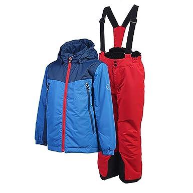 Color Kids. Gepolsterte Ski Anzug Kean, Air-Flo 5000, Princess Blue ...