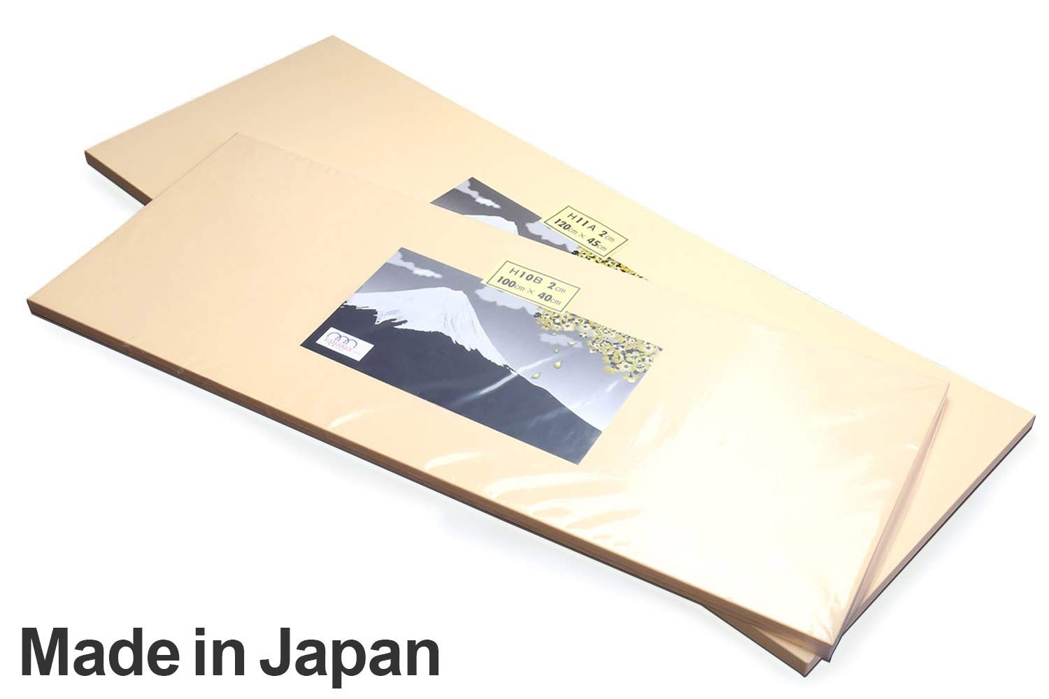 Yoshihiro Hi-soft High Performance Professional Grade Cutting Board Japanese Sashimi Chef's Tool: XX-Large Made in Japan by Yoshihiro